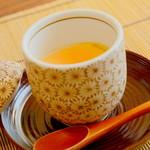 日本料理 ちくま庵 - 涼風懐石 冷やし茶碗蒸し