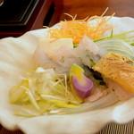 日本料理 ちくま庵 - 涼風懐石 鱧しゃぶ