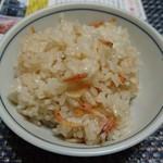 水谷商店 - 料理写真:桜えびご飯