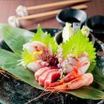 年中万菜録 月うさぎ - 明石昼網を中心とした新鮮旬魚『刺身盛り合わせ』