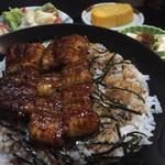 55393650 - まぶし丼ランチ1350円