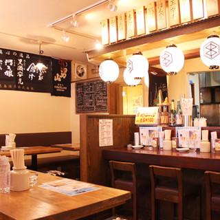 大衆居酒屋の雰囲気で、楽しくお食事をお召し上がりください!