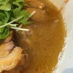 麺処つむじ - 濃厚鶏白湯に魚介
