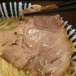 55395873 - 薫寿そば(塩味)¥730のチャーシュー(H28.8.26撮影)