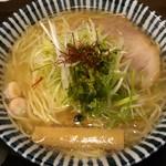 55395890 - 薫寿そば(塩味)大盛り(無料)¥730
