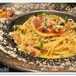 55397473 - サルシッチャとトマトのアーリオ・オーリオ