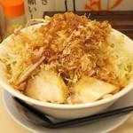 笑福 - 料理写真:2016年8月 味噌ラーメン(680円)野菜ましまし、アブラ
