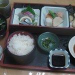いけや 北野 - 和定食(1500円)