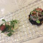 リストランテ アニモフェリーチェ - 前菜2種