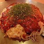 55403594 - 「そば肉玉」(700円)(平日は、ホットコーヒーまたはかき氷付き)
