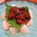 55405530 - しょうゆ豆と長芋タタキ