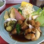 豚々亭 - 酢豚定食