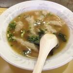 本店 鉄なべ - スープ餃子(^^)