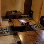 八幸 - 掘り炬燵式のお座敷席
