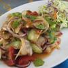 アジアンカフェ タロバ - 料理写真:トントロとハーブのスパイシーサラダ
