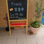 FRANK - 外の黒板