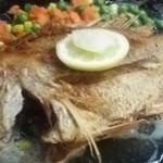 大木海産物レストラン - 魚のバター焼き