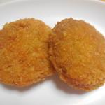内野牛肉店 - チーズ包みメンチ @¥150-