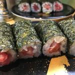 回転寿司日本一 - 鉄火巻 イケる