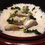 古傳 小林 - 鮎の釜飯