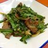 天津 - 料理写真:レバニラ炒め(ハーフ)。ニラレバ炒めかも知れない。