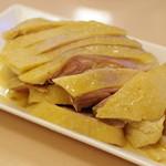 萬来亭 - 上海風茹で鶏の老酒漬け