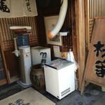 うなぎ 桜家 - お店入口