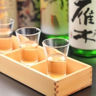 日本酒、焼酎種類豊富!!!