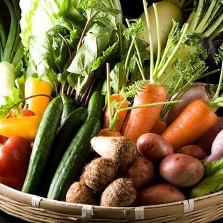 食材のこだわり【肉】×【野菜】