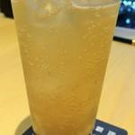 京都 瓢喜 - あらごし梅酒ソーダ割り