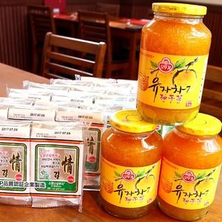 キムチなど韓国食品販売しております。