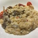 リゾッテリアプレジス - 舞茸とベーコンのクリームリゾット