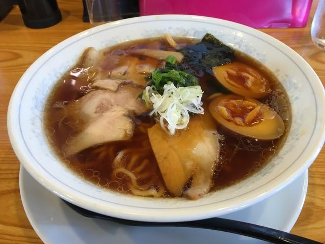 陽気 - 生姜醤油ラーメン(650円)