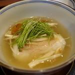祇園もりわき - ☆ぐじ&松茸&蓮根饅頭葛餡(#^.^#)☆