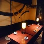 鉄板ビストロ シーフードバンク Gochi - 個室