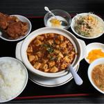 勝つ山 - 麻婆豆腐定食(辛め)