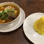 spice&cafe SidMid - スープカレー 豚バラ角煮 ¥1000