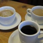ペコリーノ・カフェ - 2016.08 ブレンドコーヒー、カフェオレ