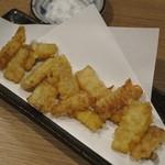 酒処 そのべ - トウモロコシの天ぷら