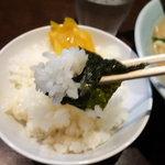 いずみ家 - ラーメン+ライス 780円