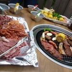 和食と甘味かんざし - テラス バーベキュー