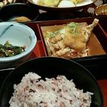 和食と甘味かんざし - とろろ十穀米懐石