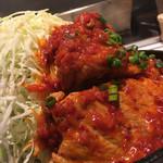 東京トンテキ - 赤大トンテキ定食