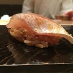 鮨 とかみ - 2016/8_春子鯛