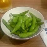築地食堂 源ちゃん - 枝豆