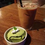 カフェキネマ - 抹茶ムース/カフェラテ✩