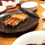 チャイナテーブル - 1608 チャイナテーブル千里中央 焼きギョーザ(6個)@420円