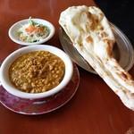 ザムザム - 料理写真:D.ザムザムセット マトンと豆
