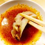 清香園 - ごま風味のピリ辛つけダレ頂いて食べてみれば~