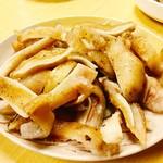 清香園 - 『みみ(焼き)』様(800円)沖縄のミミガーと違ってかなり大ぶりな豚子のイヤリングw